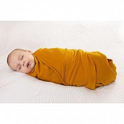 Babymatex Zavinovačka žlutá, 80 x 120 cm