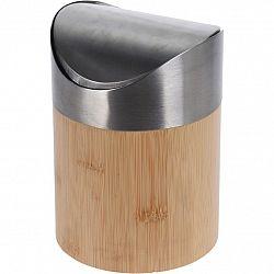 Bambusový kosmetický odpadkový koš Lina, 1 l