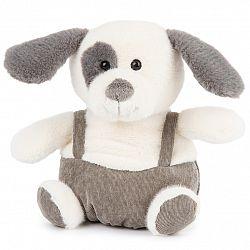BO-MA Trading Plyšový pes s kšandami, 22 cm