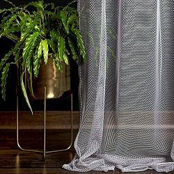 DecoKing Záclona Elie šedá,140 x 250 cm