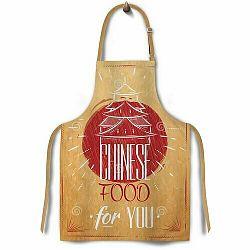 Domarex Zástěra Cucine Mondo China, 65 x 75 cm