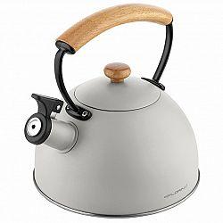 Florina Nerezový čajník Natura Line 2,3 l, šedá