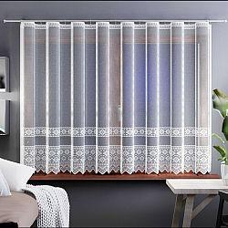 Forbyt Záclona Samanta bílá, 400 x 160 cm