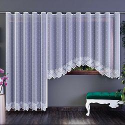 Forbyt Záclona Xenie bílá, 350 x 160 cm