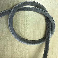 Gardinia Kartáč samolepicí 6,7 x 8 mm šedá, 2 m, 2 m