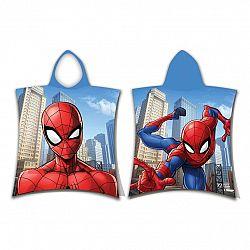 Jerry Fabrics Dětské pončo Spiderman jump, 50 x 115 cm