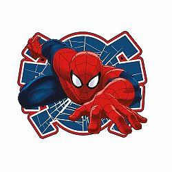 Jerry Fabrics Tvarovaný polštářek Spiderman 02, 34 x 30 cm