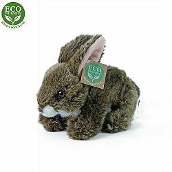 králík hnědý ležící ECO-FRIENDLY 17 cm