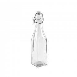 ORION Láhev sklo CLIP uzávěr 0,53 l hranatá
