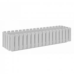 PLASTKON Truhlík FENCY plastový bílý - 75 x 18,5 cm