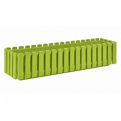 PLASTKON Truhlík FENCY plastový zelený - 75 x 18,5 cm