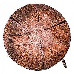 Sedák Dřevo hnědá, 40 cm