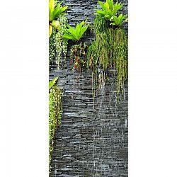 Vertikální fototapeta Green in the wall, 90 x 202 cm