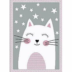Vopi Kusový dětský koberec Kiddo 0132 pink, 120 x 170 cm